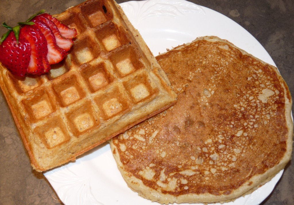 Pancakes And Waffles  Wheat & Flax Buttermilk Waffles and Pancakes