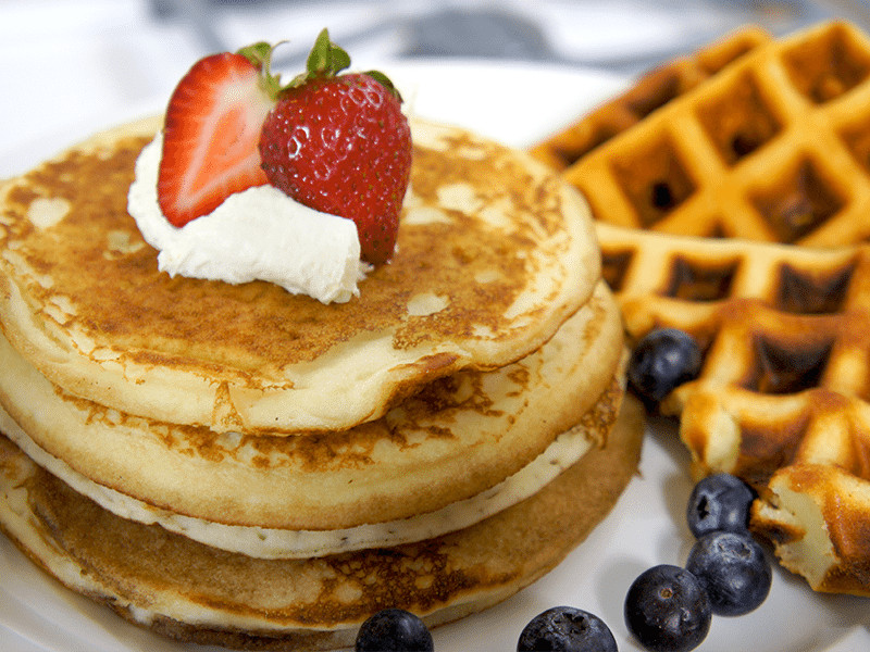 Pancakes And Waffles  Pancakes vs Waffles Who's the Real Winner