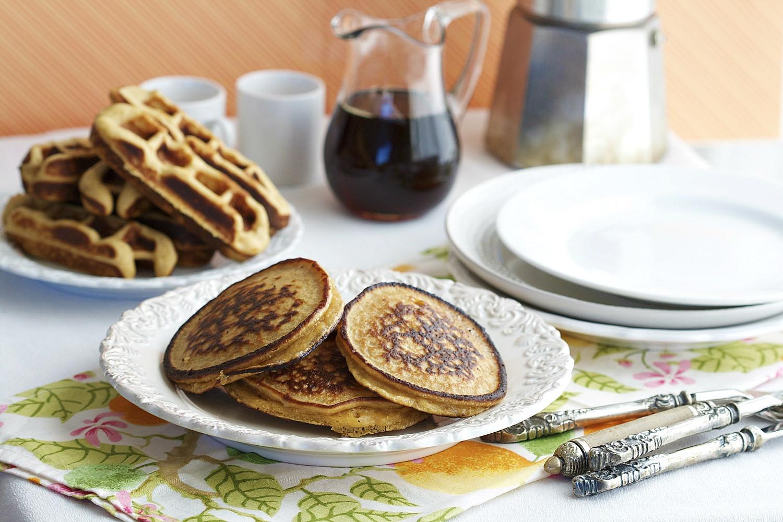 Pancakes And Waffles  Pancake and Waffle Recipe Gluten Free Grain Free Organic