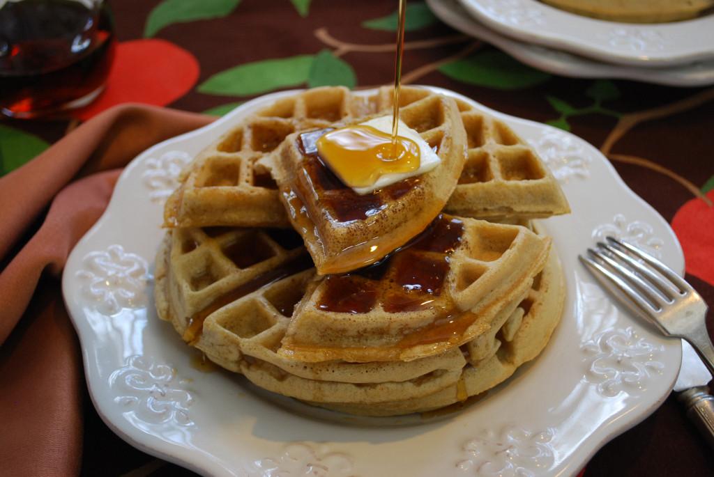 Pancakes And Waffles  Waffles with Pancake & Waffle Mix Dairy Free