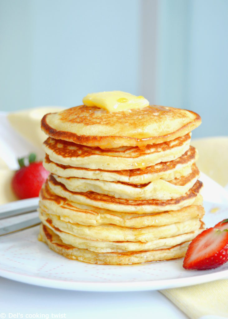 Pancakes For Breakfast  Easy Fluffy American Pancakes – Del s cooking twist