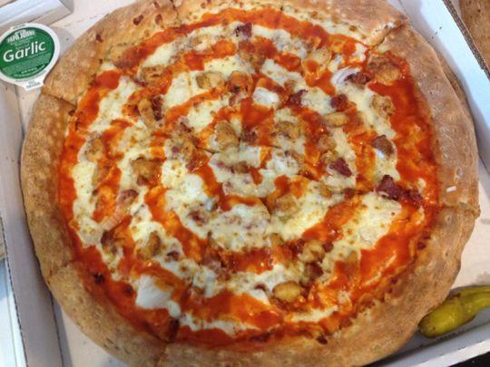 Papa John'S Pizza Buffalo Chicken Pizza  Papa John's Copycat Buffalo Chicken Pizza