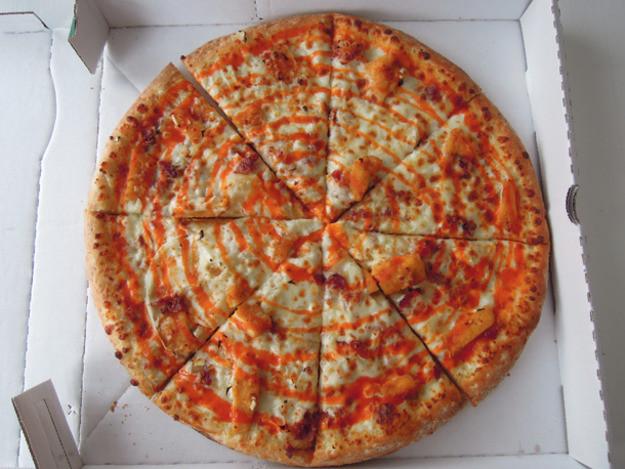 Papa John'S Pizza Buffalo Chicken Pizza  Chain Reaction Buffalo Chicken Pizza from Papa John s