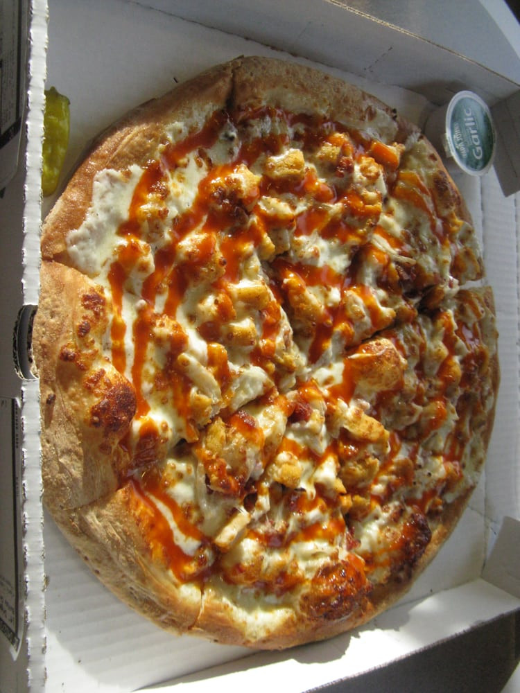 Papa John'S Pizza Buffalo Chicken Pizza  e large 14 inch diameter buffalo chicken pizza for $10