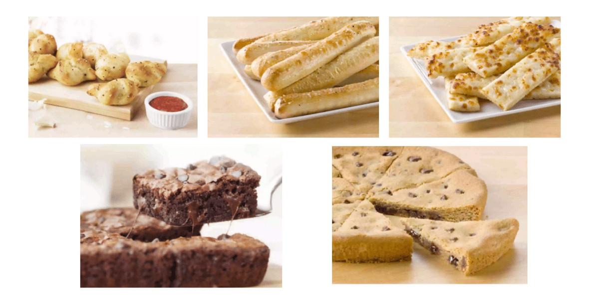 Papa Johns Desserts Menu  FREE Breadsticks or FREE Dessert From Papa Johns NO