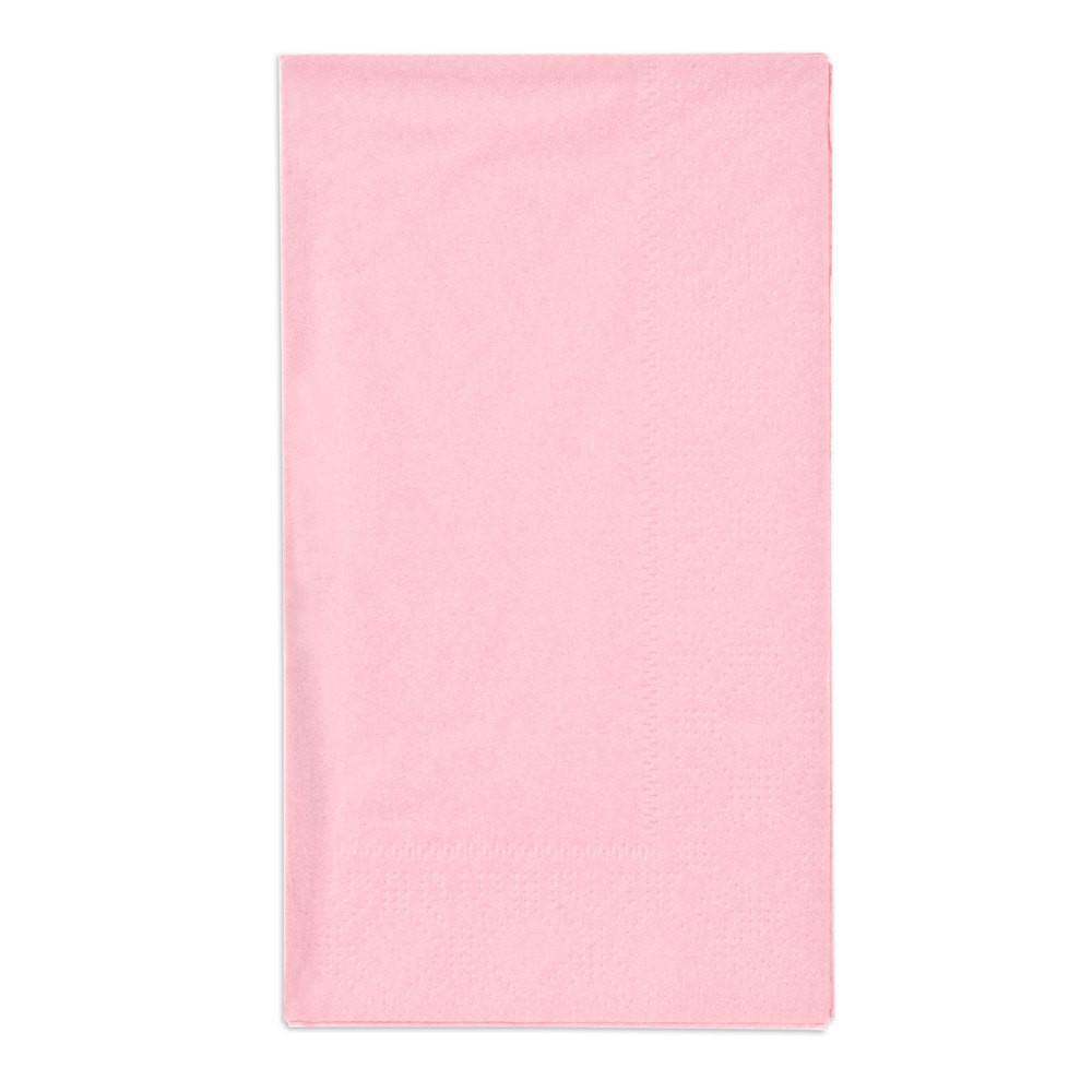 """Paper Dinner Napkins  Hoffmaster Pink 15"""" x 17"""" Paper Dinner Napkins 2"""
