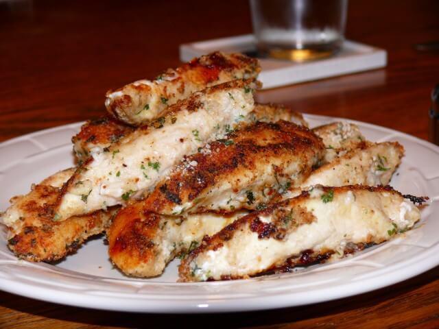 Parmesan Crusted Chicken Tenders  Parmesan Crusted Chicken Tenders Recipe from CDKitchen