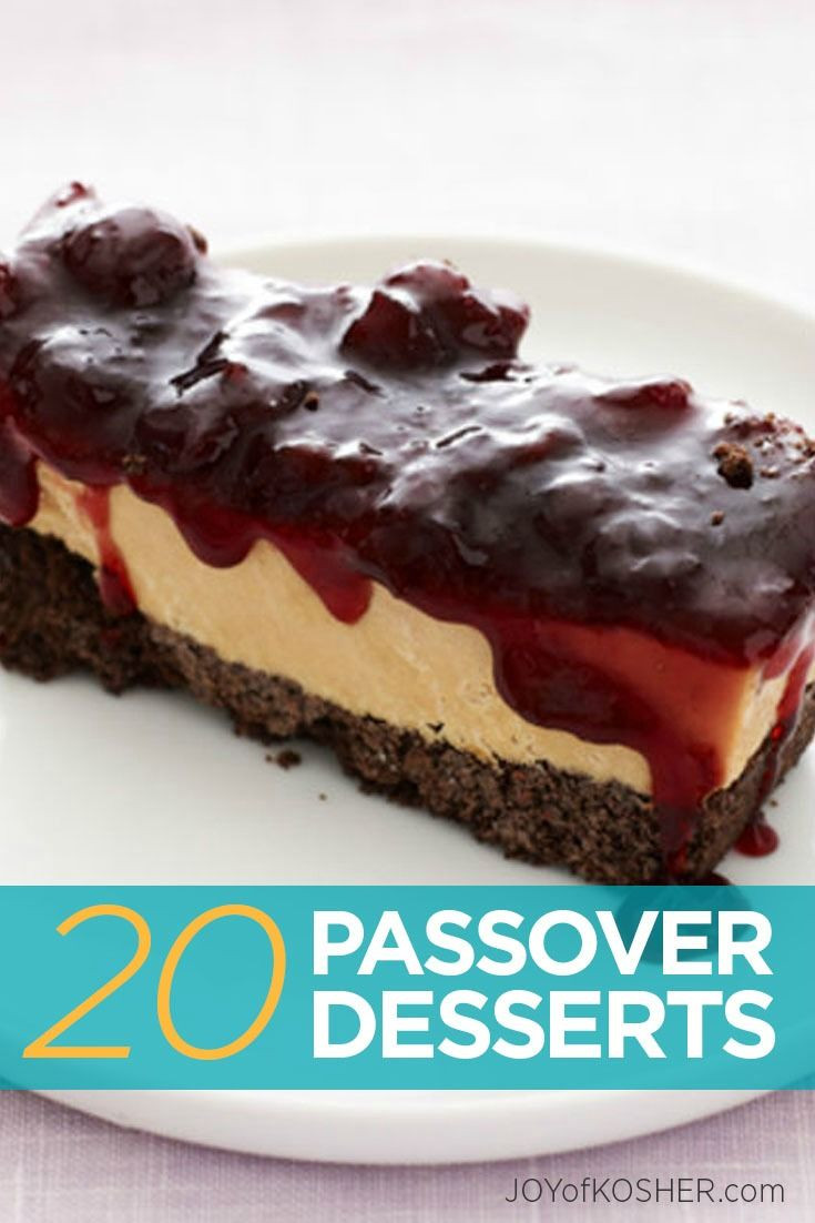 Passover Dessert Recipes  92 best Passover Desserts images on Pinterest