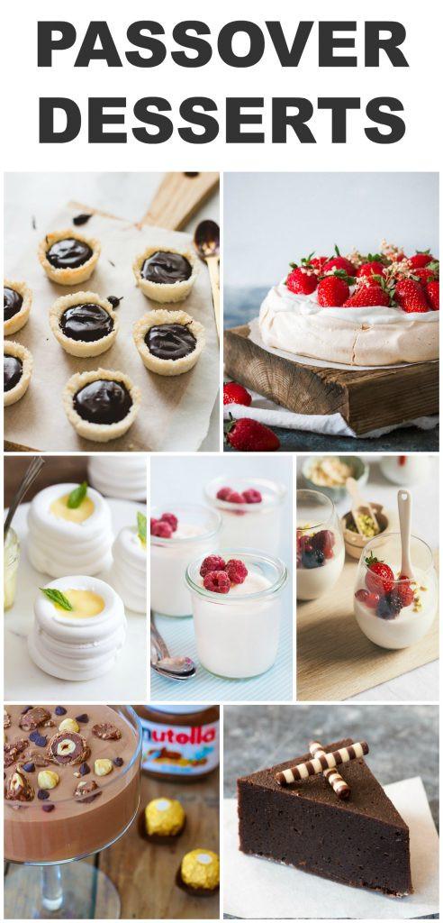 Passover Desserts Easy  Gluten Free Passover Desserts Pretty Simple Sweet