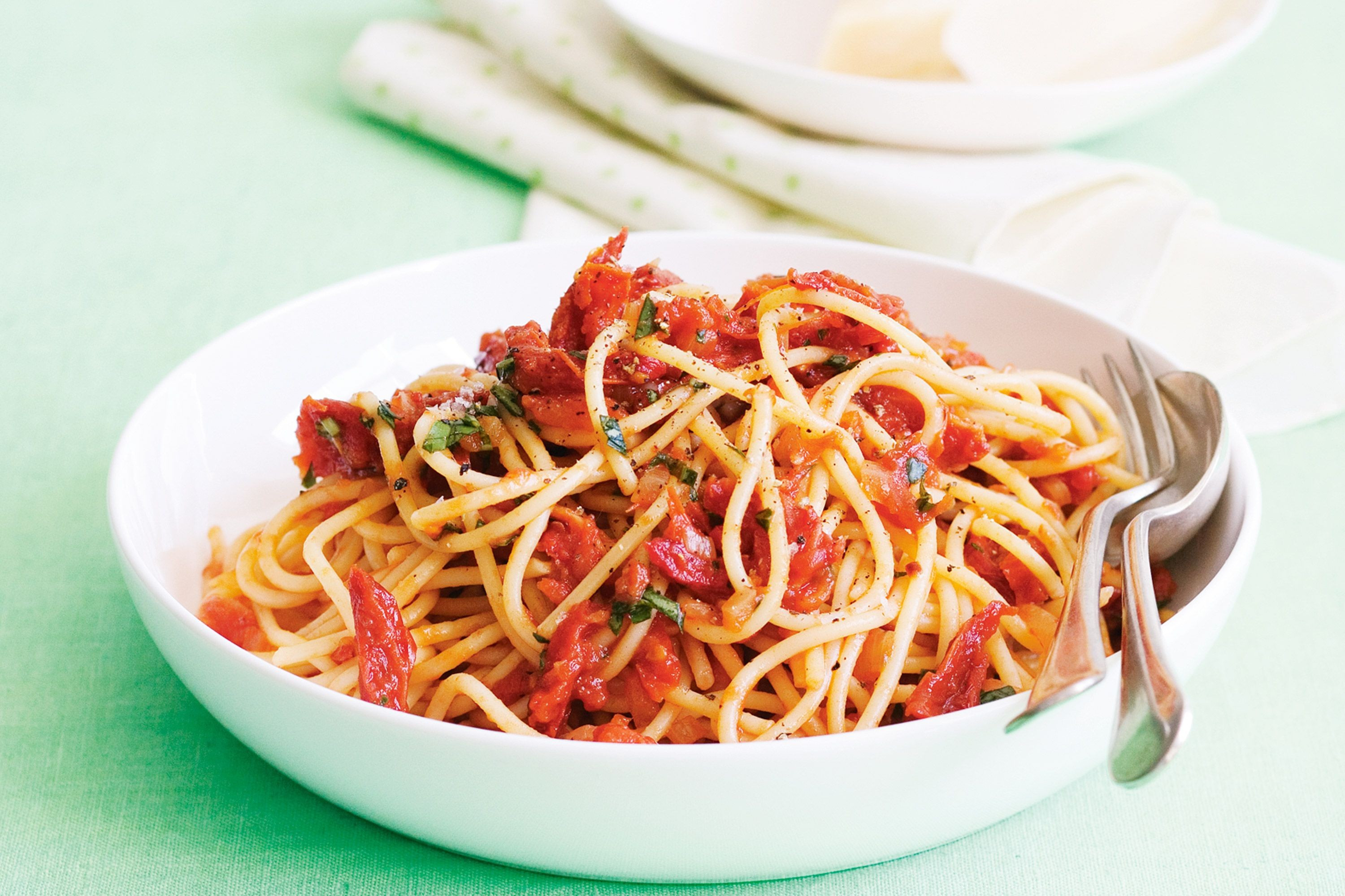 Pasta With Tomato Sauce  pasta in red sauce
