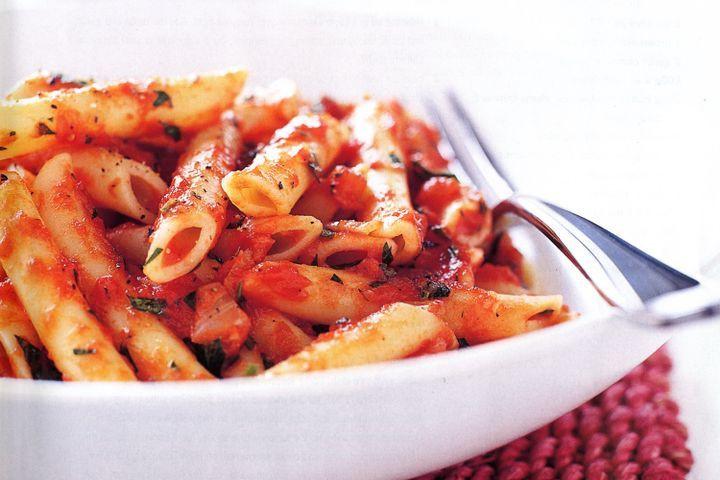 Pasta With Tomato Sauce  Pasta with simple tomato sauce