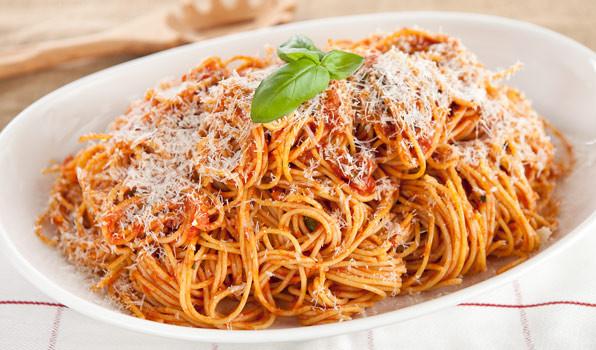 Pasta With Tomato Sauce  Recipe Spaghetti with Tomato Sauce & Pancetta CBC Life