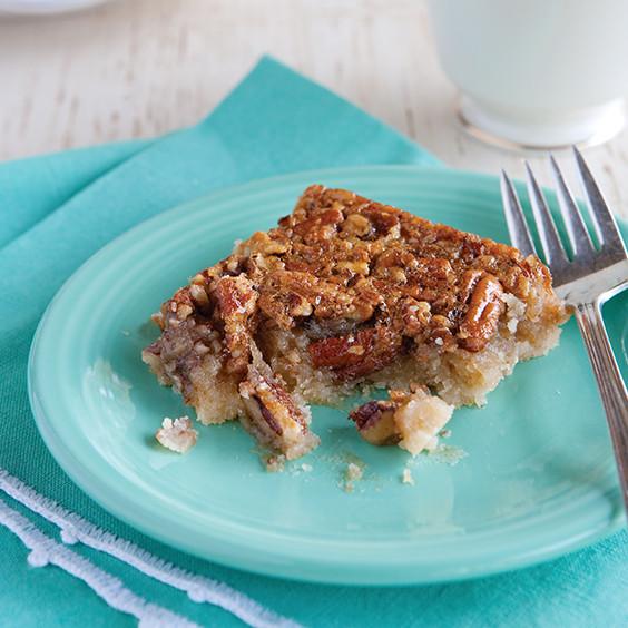 Paula Deen Pecan Pie  Southern Pecan Pie Bars Paula Deen Magazine