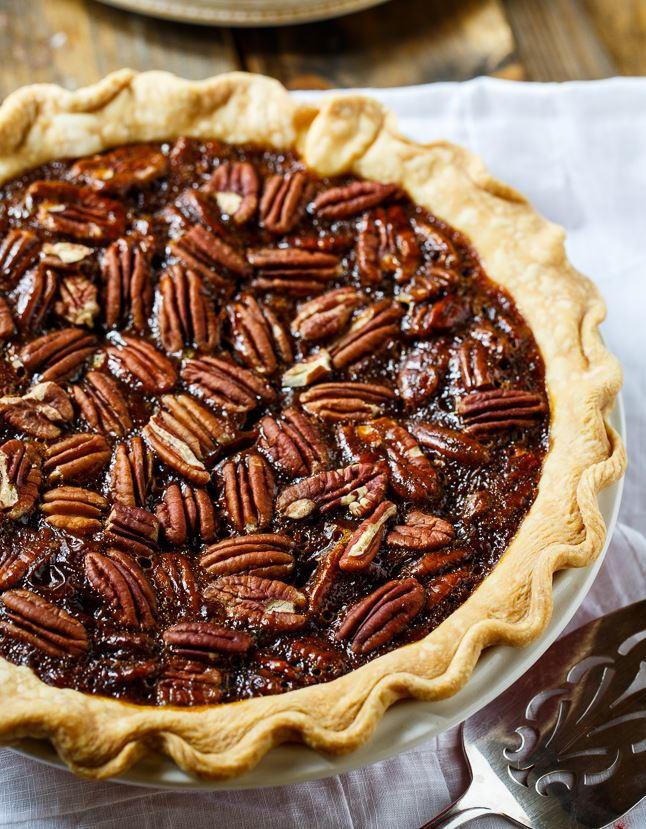 Paula Deen Pecan Pie  Paula Deen Copycat Salted Caramel Pecan Pie
