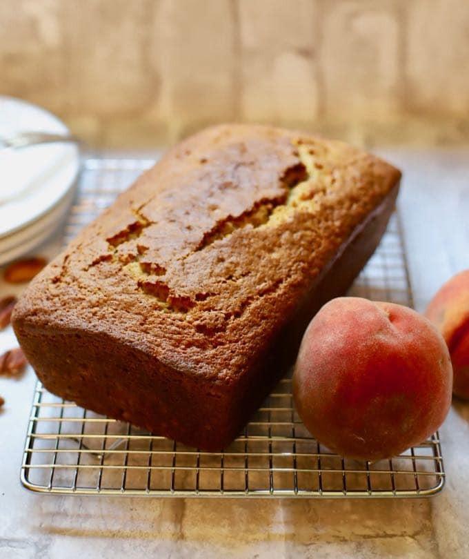 Peach Bread Recipe  Easy Southern Fresh Peach Bread