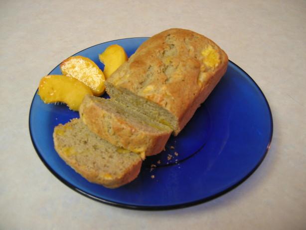 Peach Bread Recipe  Peach Bread Recipe Food