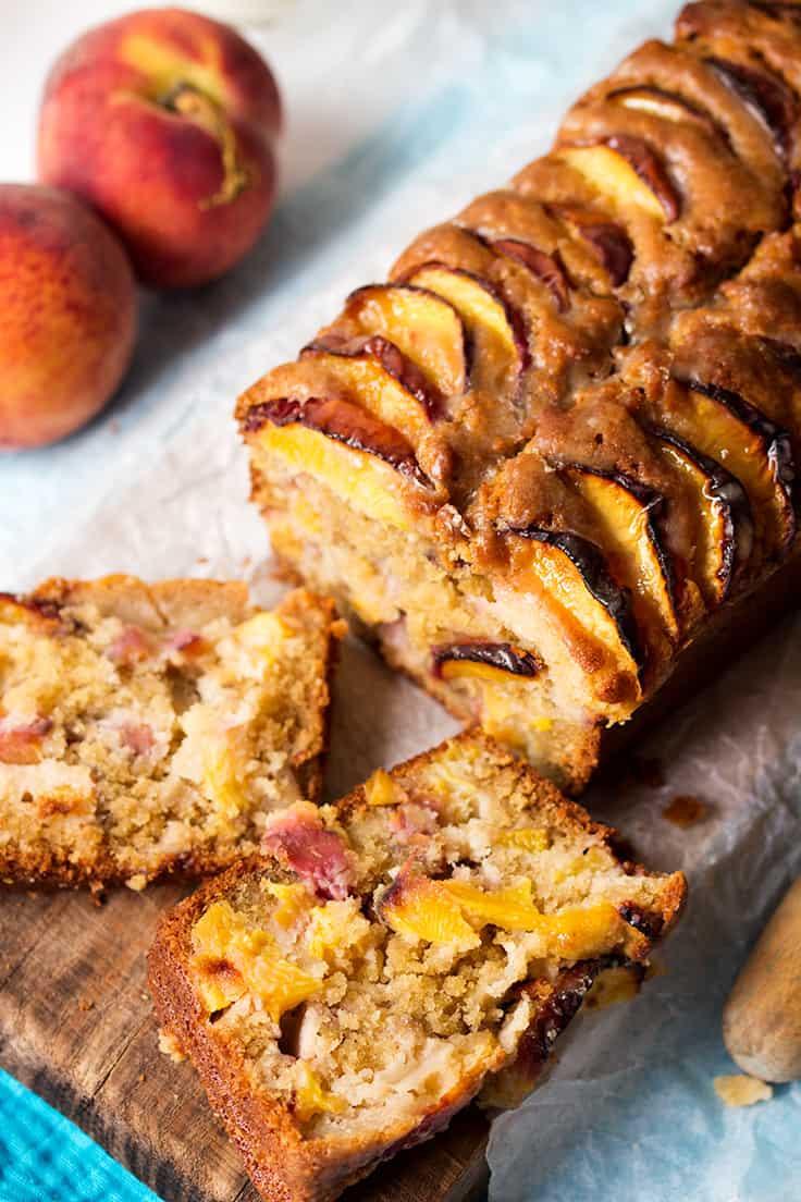 Peach Bread Recipe  Peach Bread Simply Stacie
