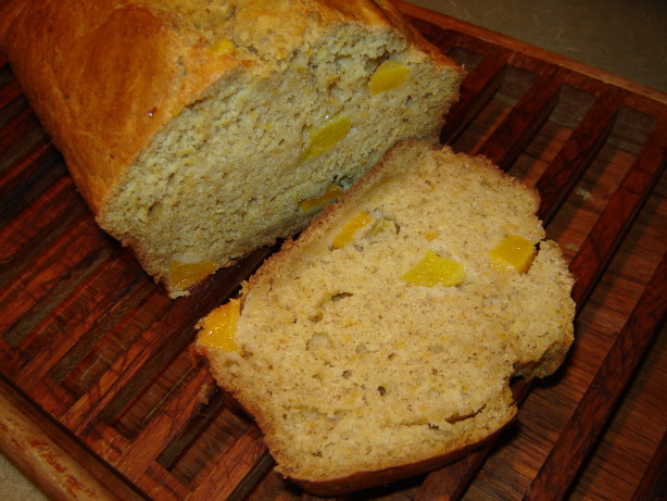 Peach Bread Recipe  Harvest Peach Bread Recipe Baking Food
