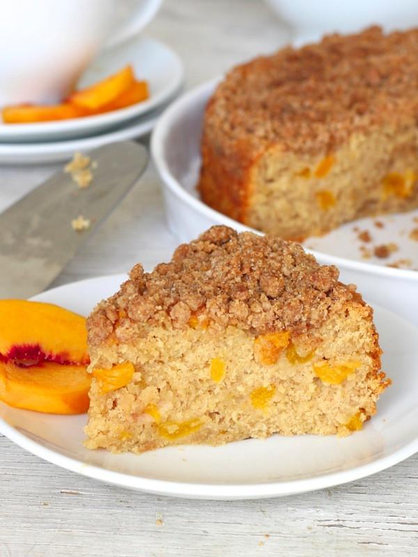 Peach Coffee Cake  Peach Coffee Cake