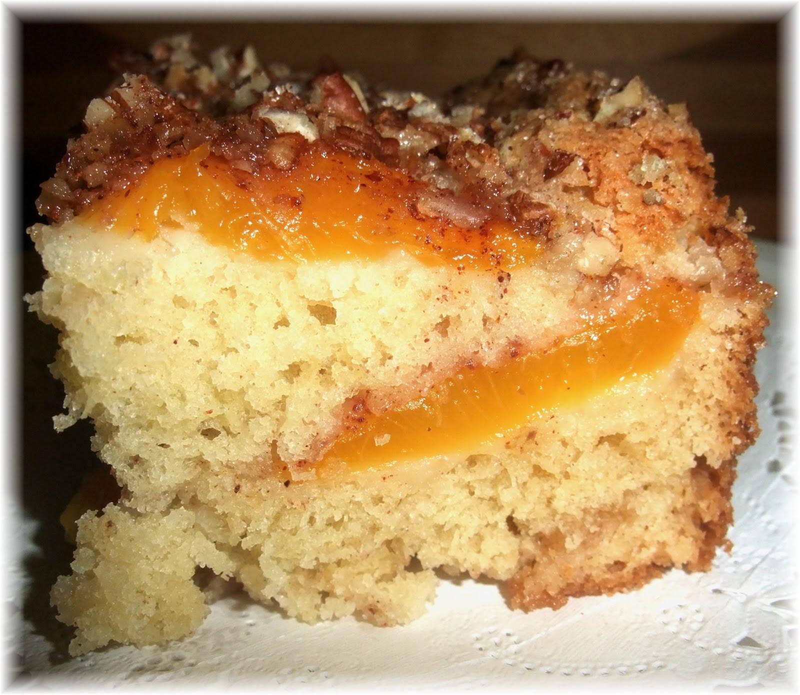 Peach Coffee Cake  Rosie s Country Baking Fresh Peach Cake