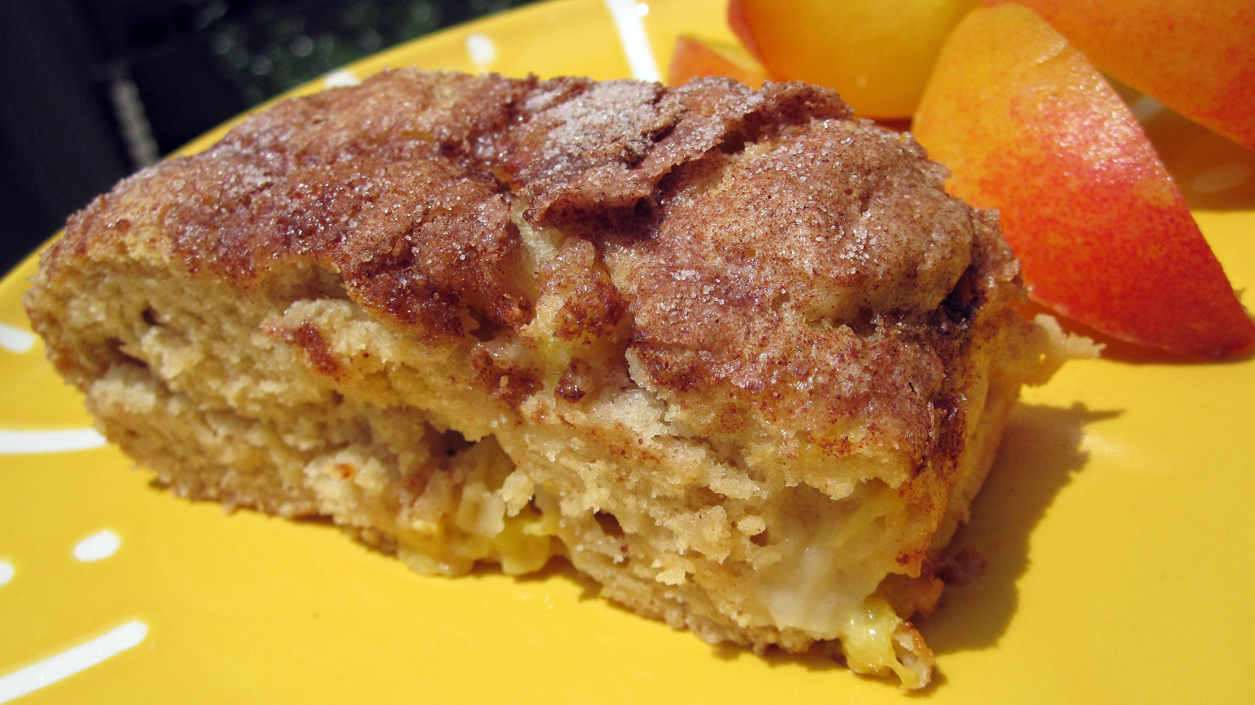 Peach Coffee Cake  Peach Coffee Cake Recipe