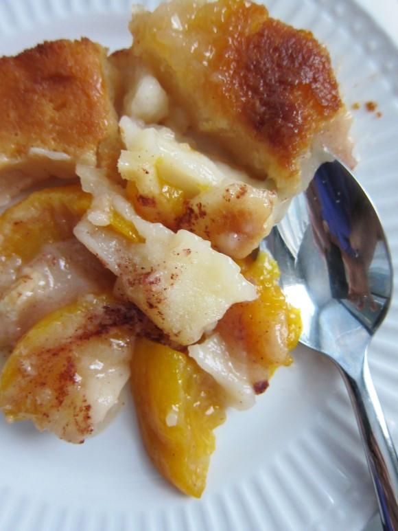 Peach Desserts Easy  Easy Peach Cobbler Recipe — Dishmaps