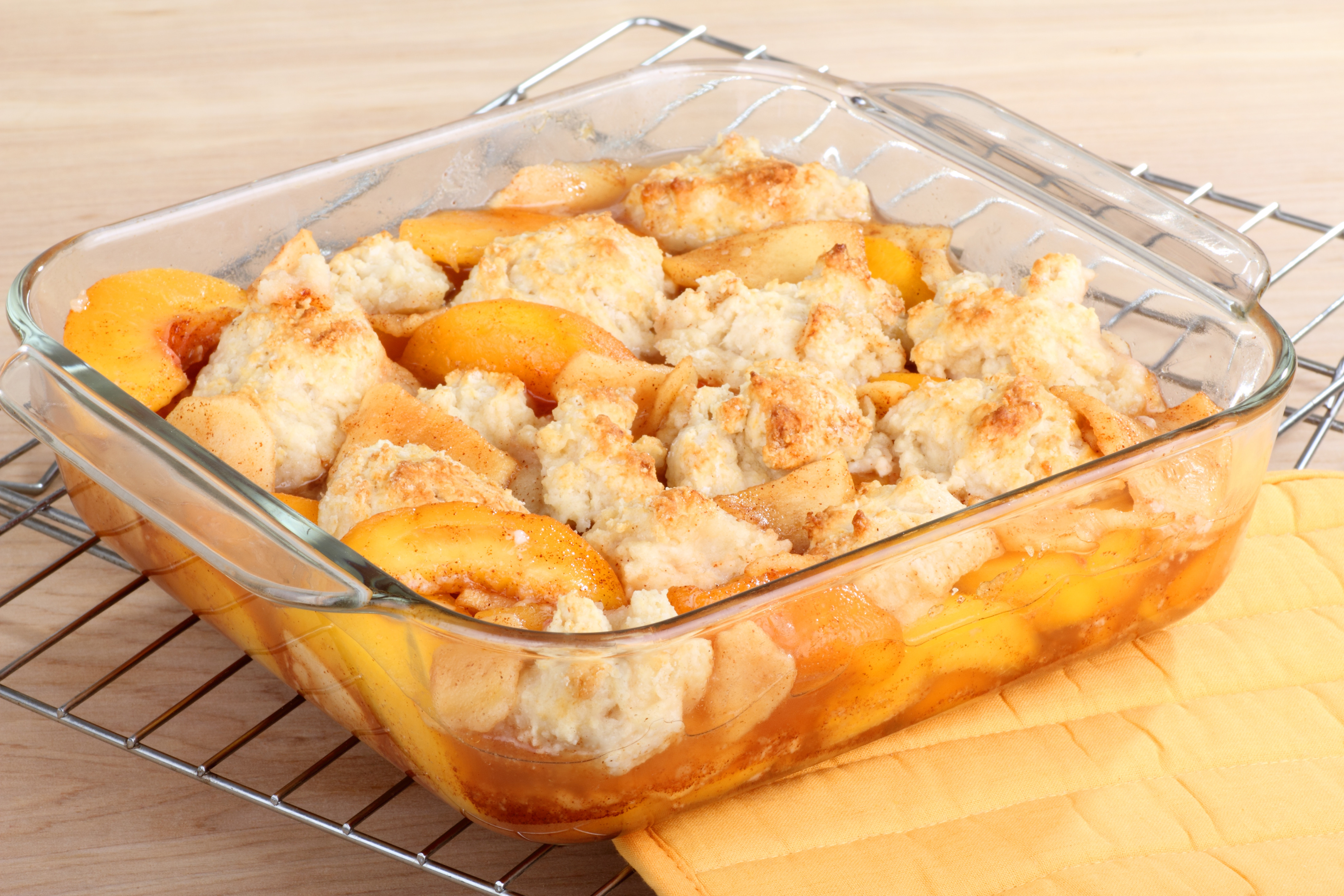 Peach Desserts Easy  Easy Peach Cobbler