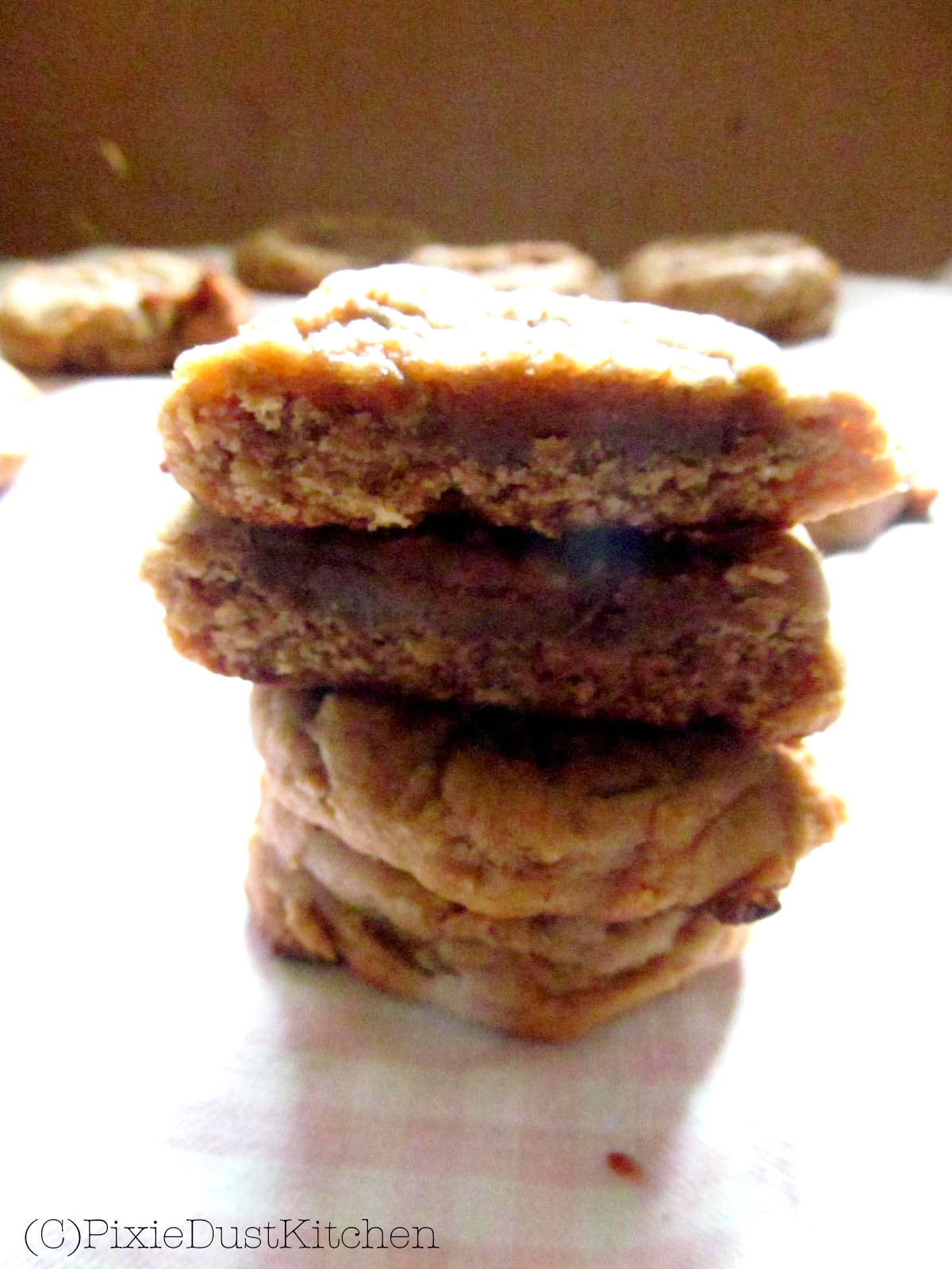 Peanut Butter Banana Cookies  Peanut Butter Banana Cookies Vegan