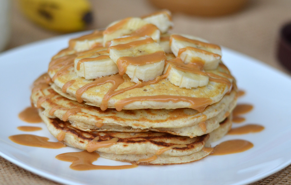 Peanut Butter Banana Pancakes  10 Gluten Free Ideas for BreakfastRivertea Blog
