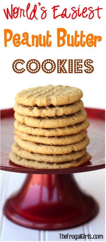 Peanut Butter Cookies Recipe Easy  Peanut Butter Crunch Cake Squared Recipe — Dishmaps