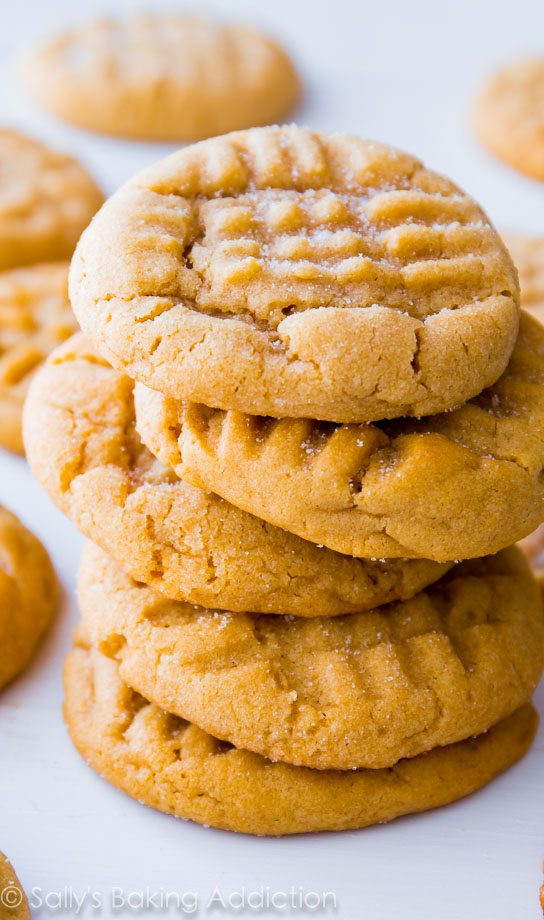 Peanut Butter Cookies Recipe Easy  Classic Peanut Butter Cookies Sallys Baking Addiction