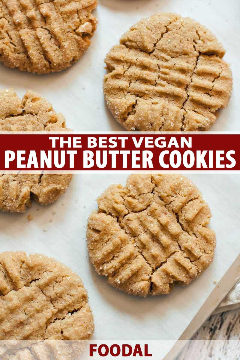 Peanut Butter Cookies Recipe Easy  easy vegan peanut butter cookies