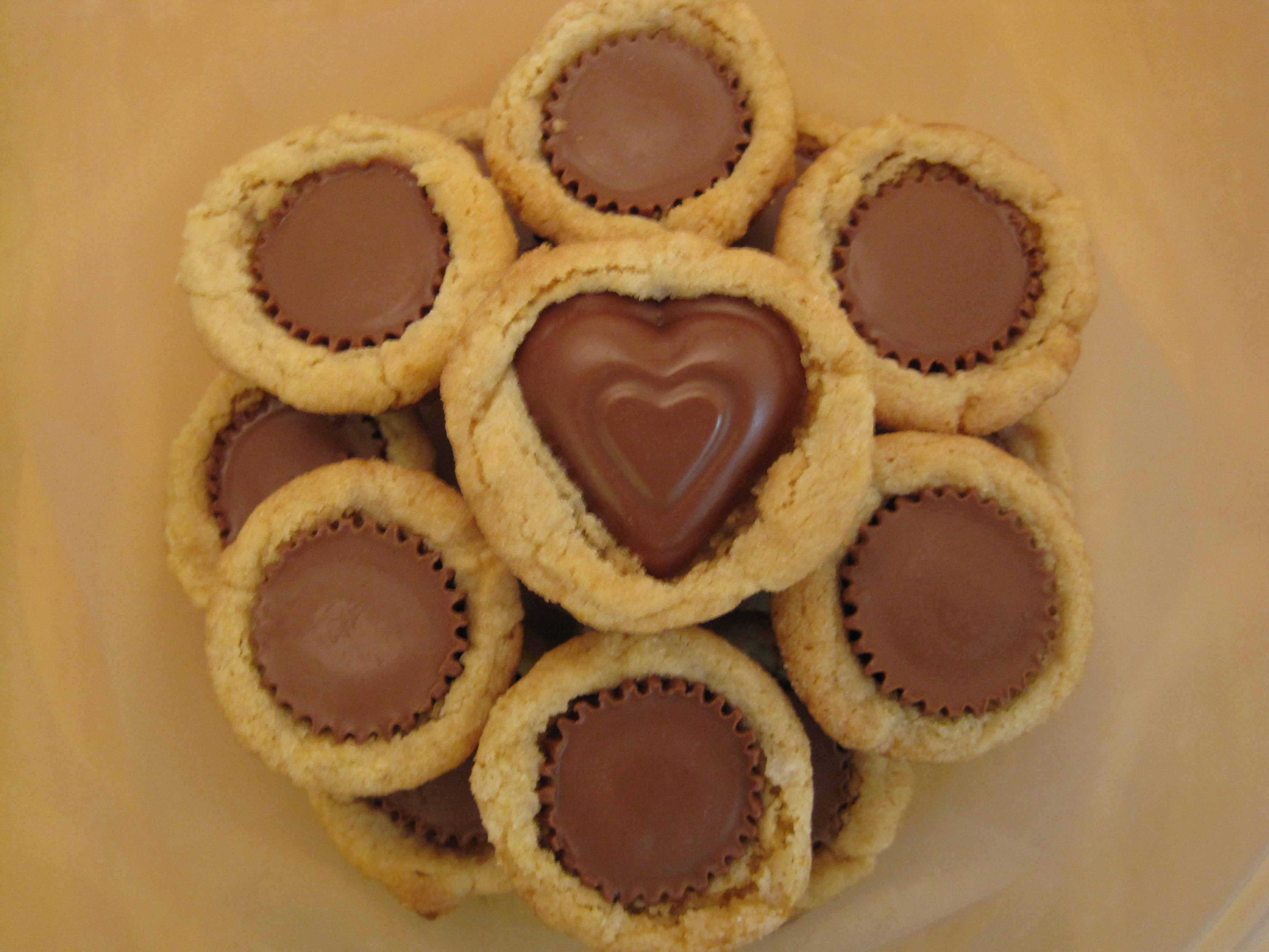 Peanut Butter Cup Cookies  Mini Peanut Butter Cup Cookies