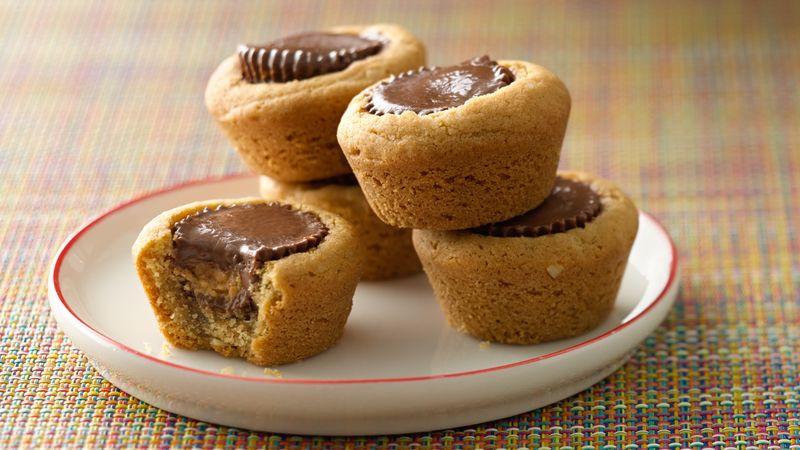 Peanut Butter Cup Cookies  Peanut Butter Cookie Cups Recipe BettyCrocker