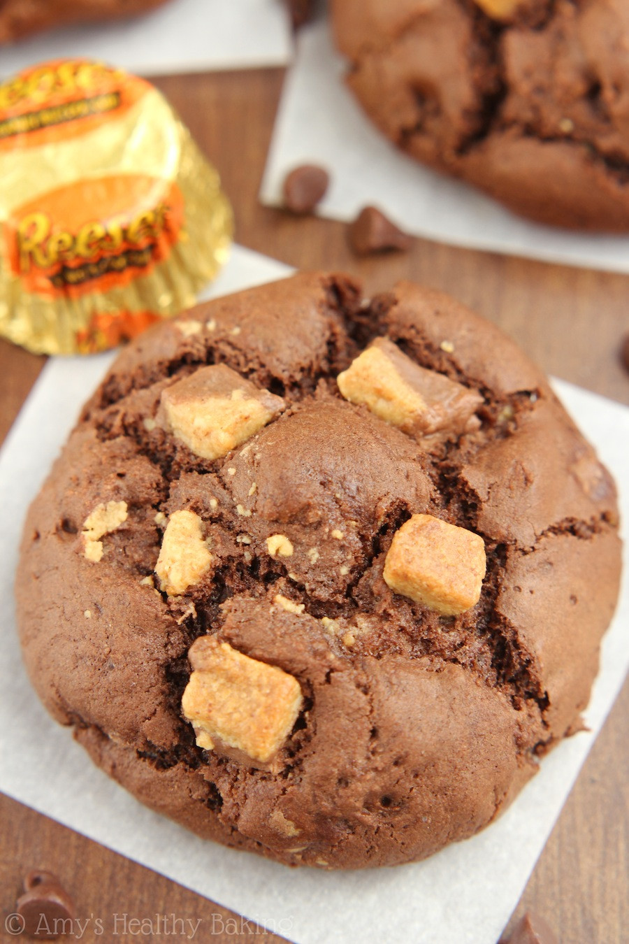 Peanut Butter Cup Cookies  Peanut Butter Cup Chocolate Cookies