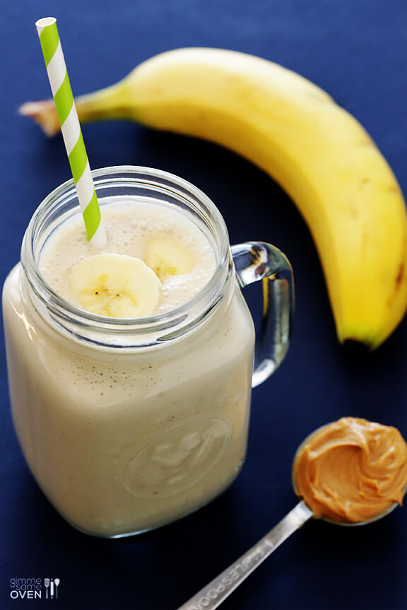 Peanut Butter Smoothies  Peanut Butter Banana Smoothie