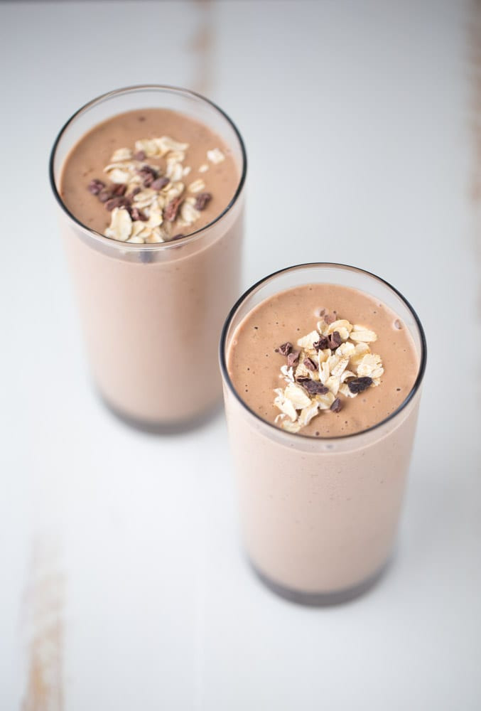 Peanut Butter Smoothies  Chocolate Peanut Butter Smoothie superfoods vegan