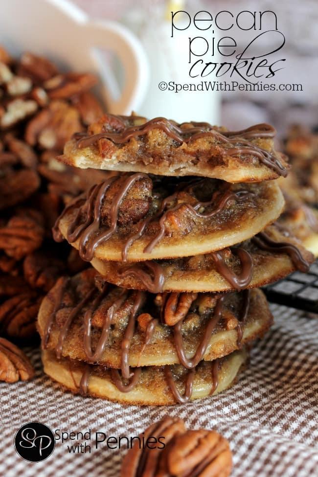 Pecan Pie Cookies  Pecan Pie Cookies Spend With Pennies