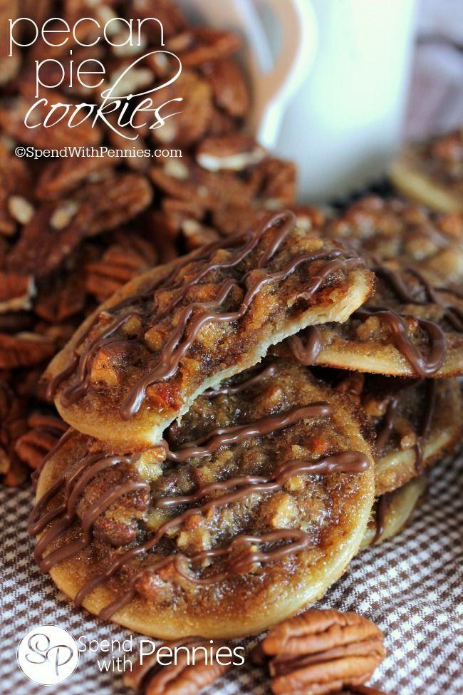 Pecan Pie Cookies  17 Best ideas about Pecan Pie Cookies on Pinterest