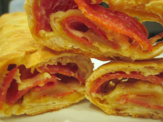 Pepperoni Bread Recipe  Pepperoni Pepperoni bread and Appetizer recipes on Pinterest