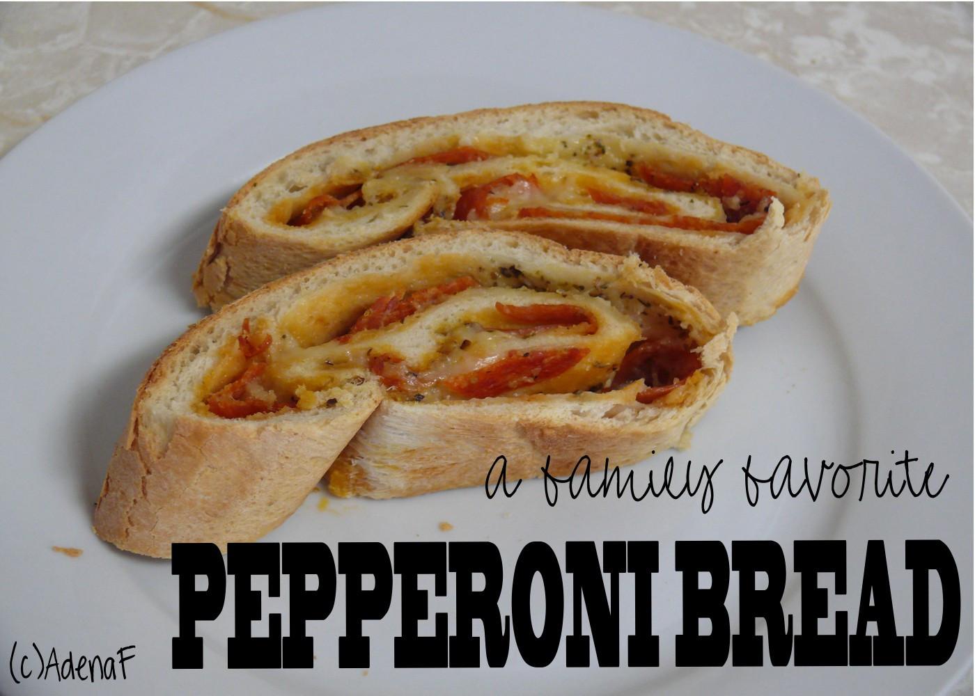Pepperoni Bread Recipe  Pepperoni Bread Recipe