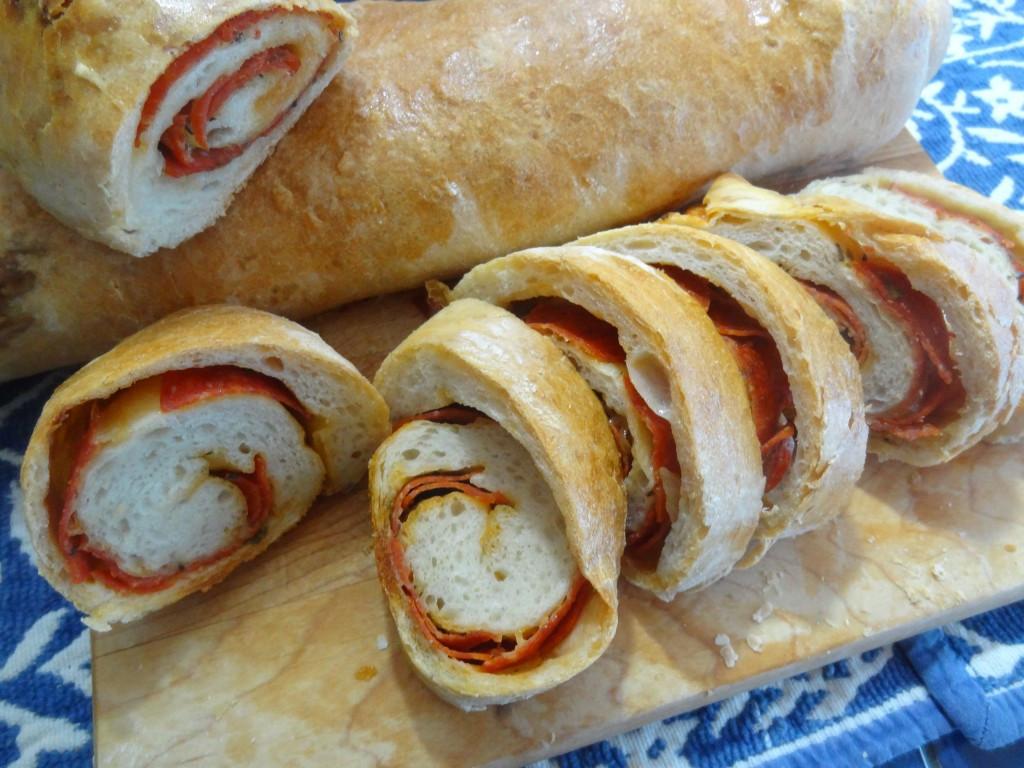 Pepperoni Bread Recipe  Lisa s Pepperoni Bread recipe