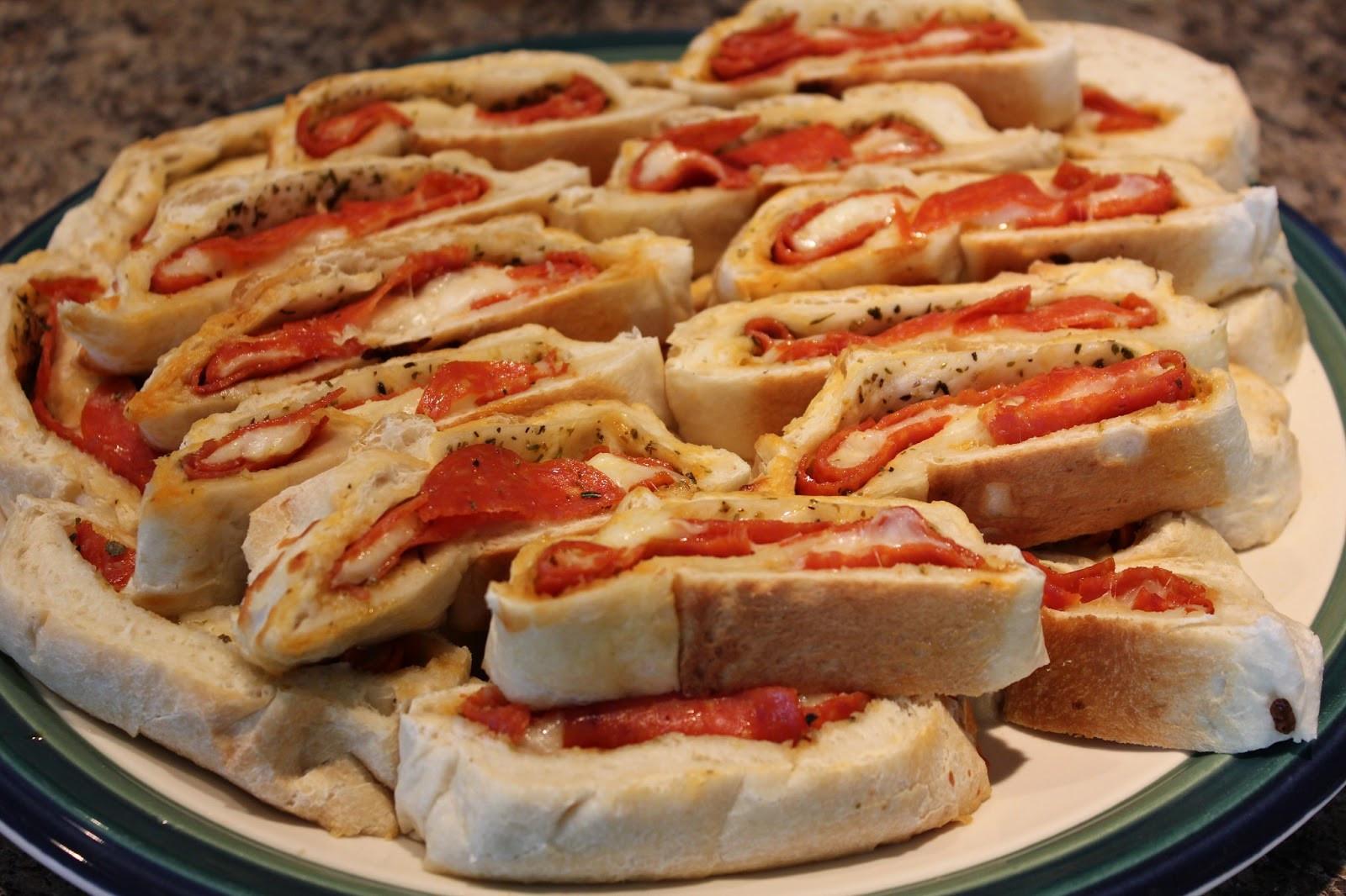 Pepperoni Bread Recipe  The Busy Moms Recipe Box Party Pepperoni Bread
