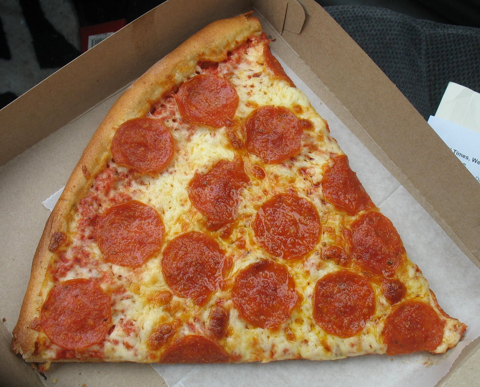 Pepperoni Pizza Slice  The DIY Guide to Booking Award Tickets – Part I Know Why