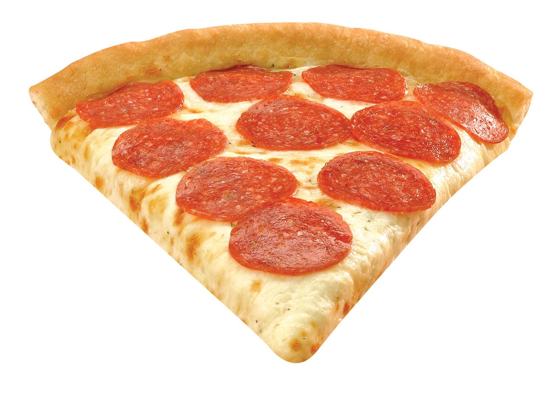 Pepperoni Pizza Slice  Noble Roman s Take n Bake Pizza