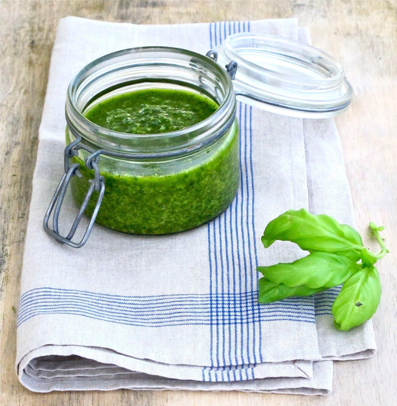 Pesto Sauce Recipe  Jenny Steffens Hobick Homemade Pesto Sauce