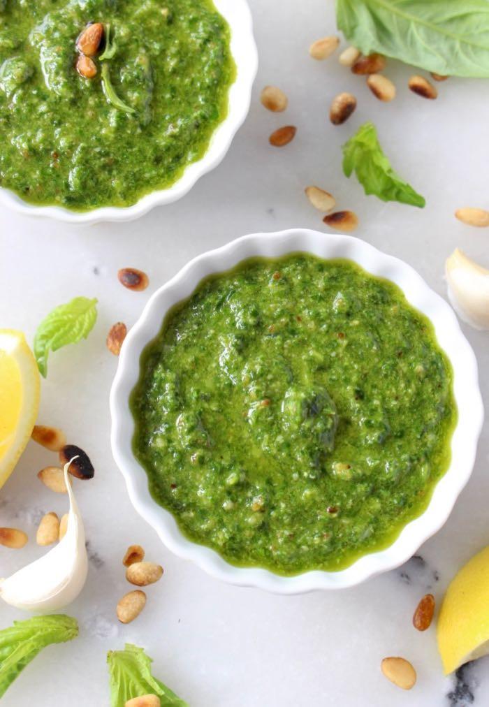 Pesto Sauce Recipe  Basil Walnut Pesto Recipe • CiaoFlorentina