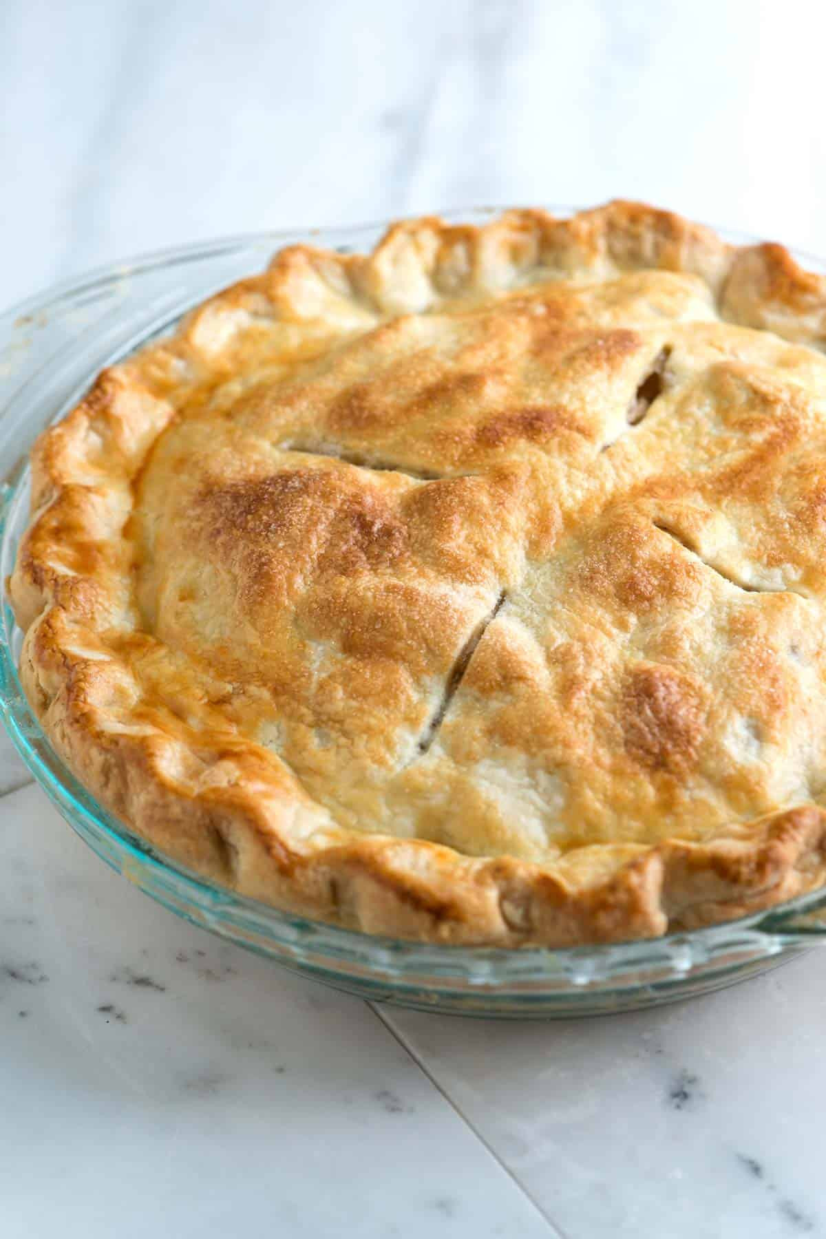 Pie Crust Recipes  Easy All Butter Flaky Pie Crust Recipe