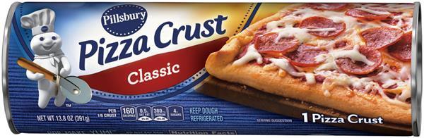 Pillsbury Pizza Dough  Pillsbury Classic Pizza Crust