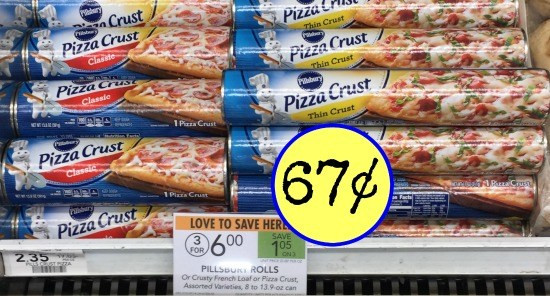 Pillsbury Pizza Dough  Pillsbury Coupon Reset More Cheap Rolls At Publix